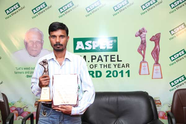 Awardee - Mr. Narendra Behera, Mayurbanj, Odisha.